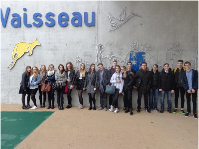 Les élèves de Poincaré remportent le premier prix du concours «Chain reaction».!!