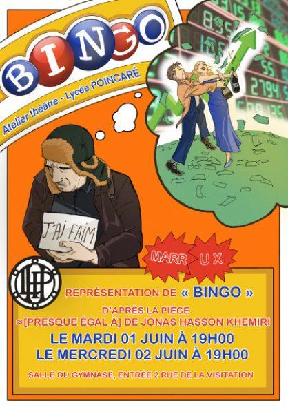 Atelier Théâtre – BINGO