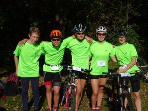 Première journée des olympiades des lycées en UNSS: Run&Bike