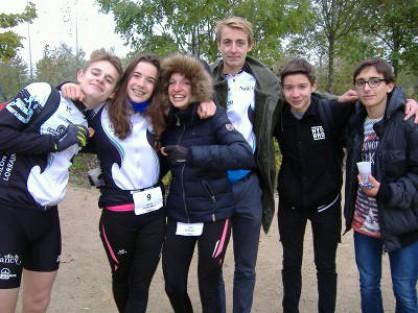Nouvelles de la première 1/2 journée des olympiades des Lycées en UNSS et du championnat départemental de run&bike