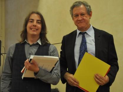 Concours international de latin CICERO: Alexandre Schmitt (K1), admis à l'ENS Ulm en juin, remporte le 1er accessit en version!