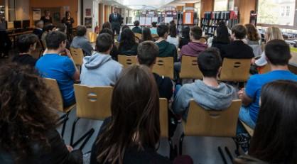 Les 1ereS d à la sélection du Goncourt des lycéens.