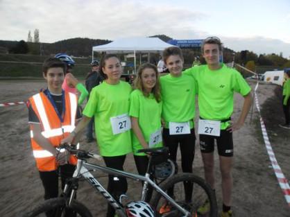 Des nouvelles du championnat d'académie UNSS de run and bike