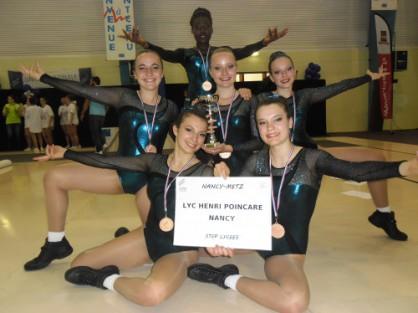 Championnats de France UNSS: les bronzés font du step !