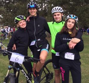 Championnat d'académie de Duatlhon- Run&Bike- Poinca se distingue !